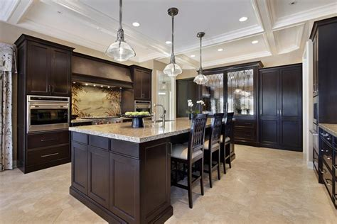 kitchen floor ideas with dark cabinets 20 beautiful kitchens with dark kitchen cabinets