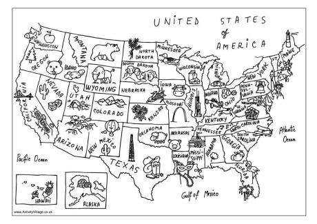 usa map coloring page usa map colouring page