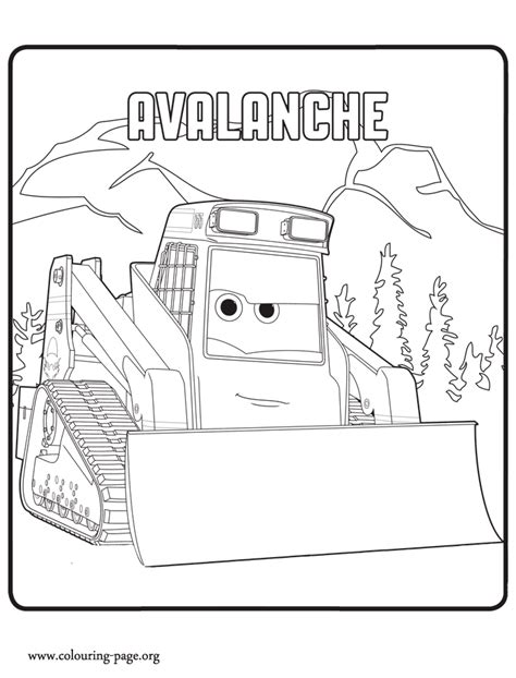 avalanche is a character in the upcoming movie planes 2