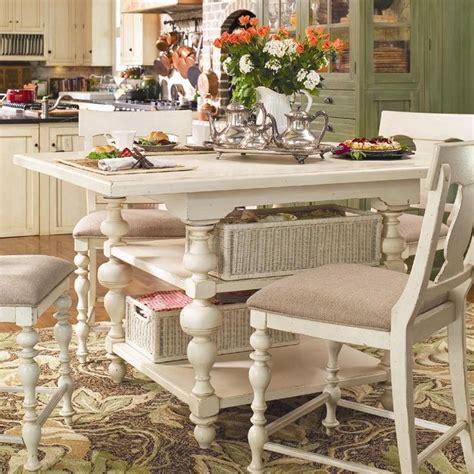 Kitchen Island Gathering Table by Paula Deen Home Counter Height Kitchen Gathering Table