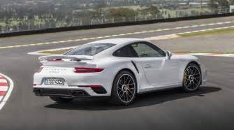 Porsche 911 Turbo 2017 Porsche 911 Turbo S Is A Smarter Track And