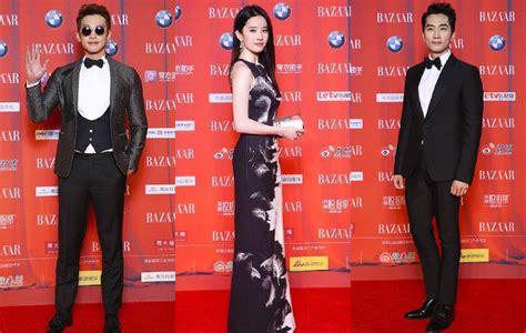 Setelan Kemeja Dan Dress Songsong intip gaya song seung dan park shin hye di carpet bazaar charity 2015 kabar