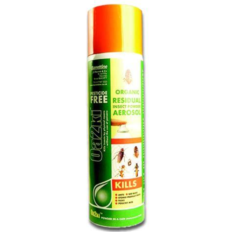 bed bug powder diatomaceous earth oa2ki powder aerosol 500ml organic residual bed bug killer