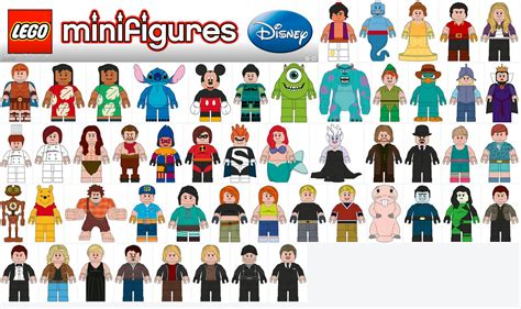 egli figuren größen 71012 minifigures disney page 2 minifigures