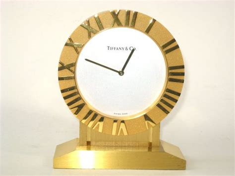 tiffany and co brass desk clock 73 best vintage and antique clocks images on pinterest