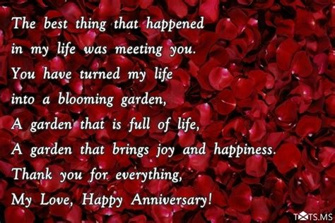 Wedding Anniversary Quotes For Myself by Anniversary Wishes For Husband Quotes Messages Images