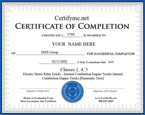forklift certification template osha certification made easy learn about