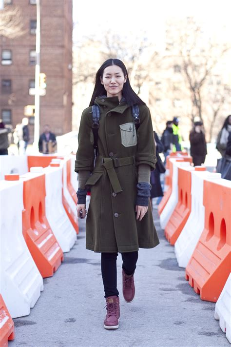 Style Liu by Liu Wen Streetstyle Asian Model Scoop