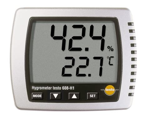 i a testo testo 608 h1 thermohygrometer testo ltd test and