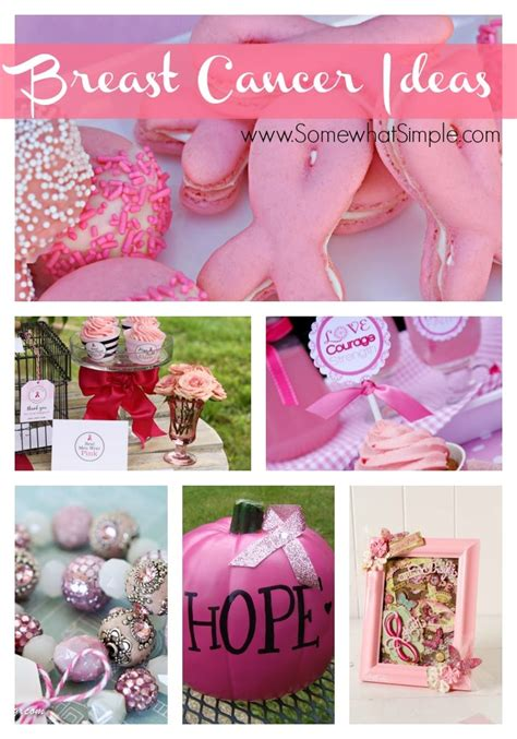 Breast Cancer Awareness Decorations by Breast Cancer Awareness Ideas 10 Crafts And Recipes