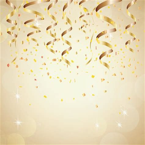 new year background happy new year background with golden confetti stock