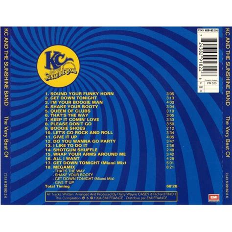 Cd Kc And The Band The Best Of the best of kc and the band mp3 buy