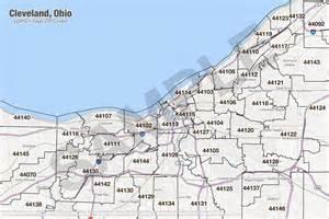 Ohio Zip Codes Map by Cleveland Ohio Zip Code Map Zip Code Map