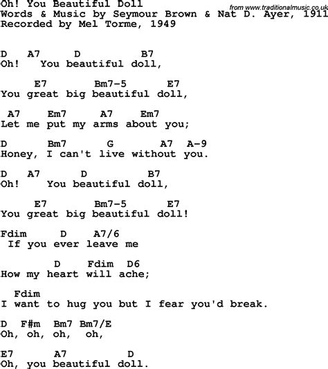 beautiful in white chord song lyrics with guitar chords for oh you beautiful doll