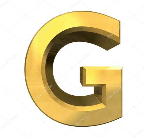 le lettere d pi禮 gold 3d letter g stock photo 169 fambros 11905821