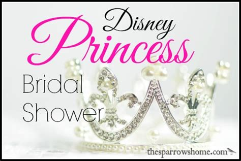 disney princess bridal shower princess