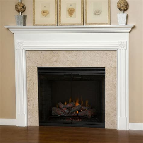 Blue Mantle Fireplaces by Blue Ridge Wood Fireplace Mantel Transitional