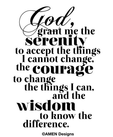 printable version serenity prayer 18 best images about courage on pinterest serenity