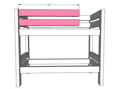American Doll Bunk Bed Plans Woodwork American Doll Loft Bed Plans Pdf Plans