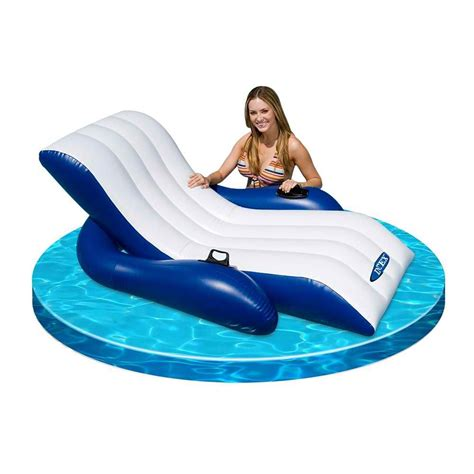 inflatable couch for pool what s the best inflatable pool chairs www