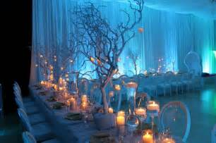 light blue wedding decoration with