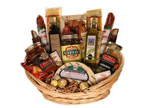 Food Gift Baskets - italian gift basket giveaway from mariano foods retail