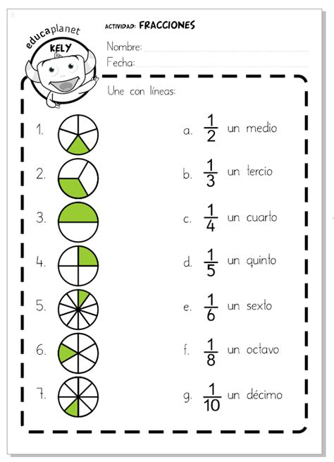 imagenes matematicas de fracciones fracciones ficha f 193 cil educaplanet