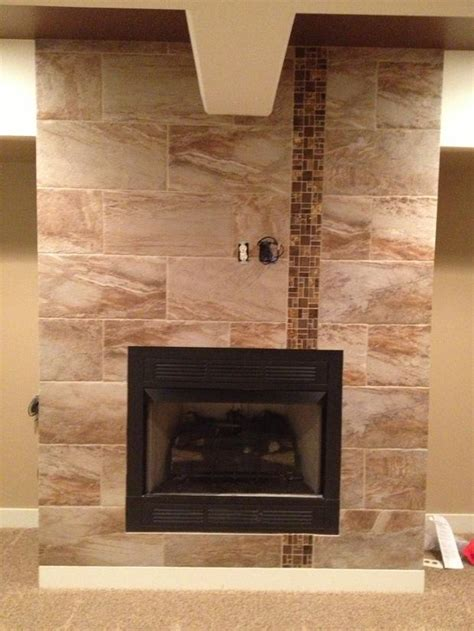 modern fireplace in omaha tile fireplace surround