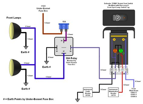 driving light relay wiring diagram wiring diagram