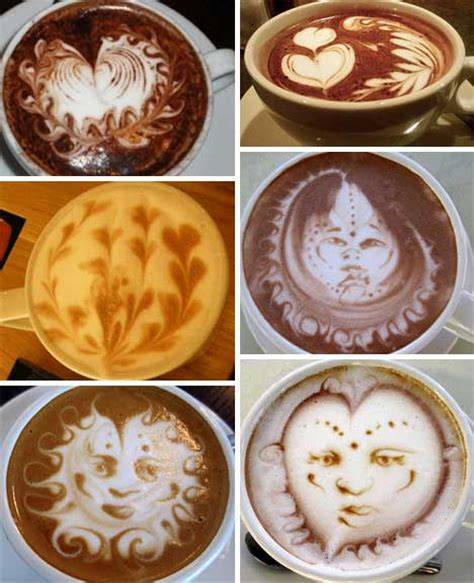 latte art pattern names designer baristas 50 incredible works of coffee latte