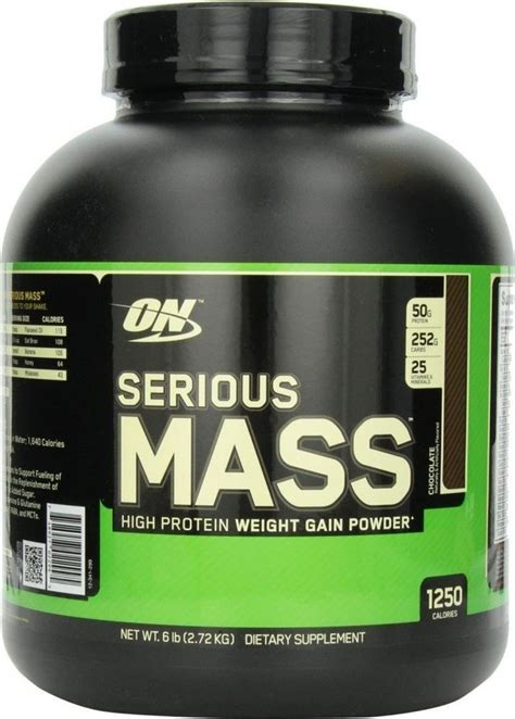 Whey Gainer Optimum Nutrition Serious Mass Whey Protein Weight Gainer
