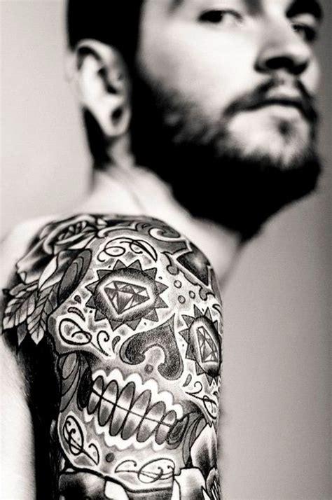 sugar skull tattoo diamond eyes meaning 40 sugar skull tattoo meaning designs
