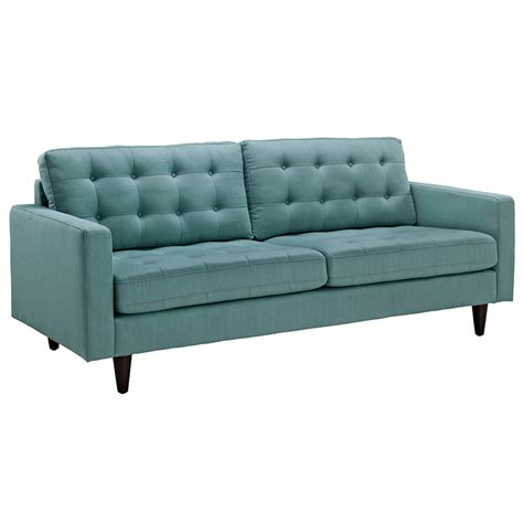 blue loveseats modern sofas enfield light blue sofa eurway modern
