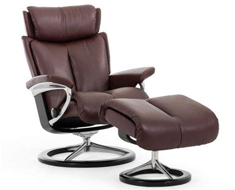 Ekornes Chairs by Stressless Magic Stressless Leather Recliner Chairs