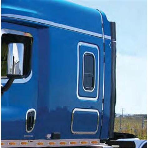 Semi Truck Sleeper Accessories by Freightliner Rear Sleeper Trim Big Rig Chrome Shop