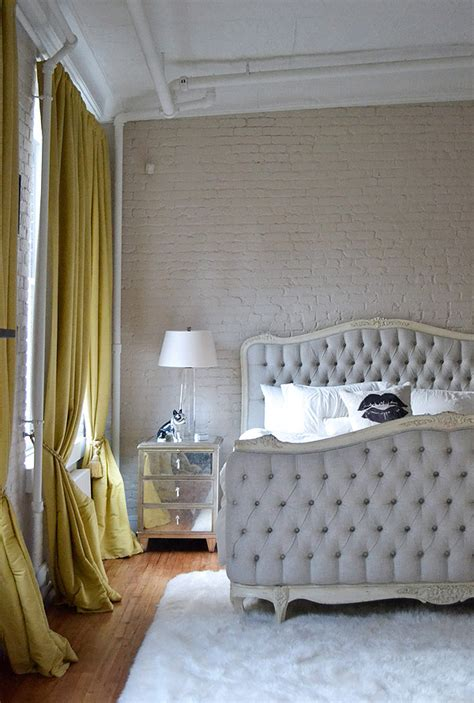 nyc bedroom home inspiration tamra sanford s chic soho nyc loft a