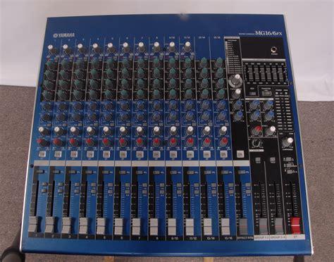 Mixer Yamaha Mg 16 Fx yamaha mg16 6fx image 1021478 audiofanzine