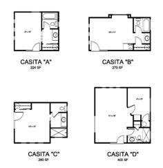 backyard casita plans backyards on pinterest tiny house tiny homes and tiny