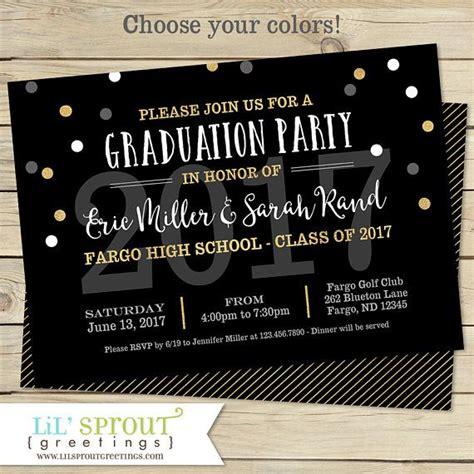 printable graduation open house invitations printable graduation invitation joint graduation party
