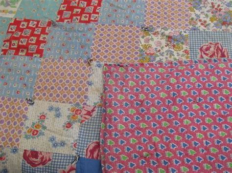 Patchwork Quilts Lots Of Them - lot antique vintage patchwork quilts for cutting cutters
