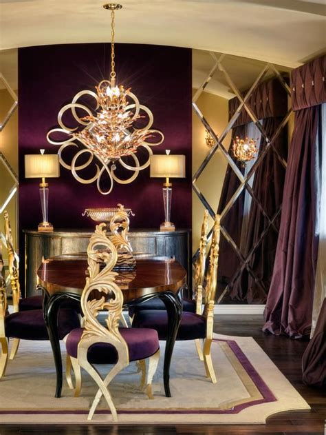 Gold Room Decor 25 Best Ideas About Purple Dining Rooms On Pinterest Purple Dining Room Furniture Purple