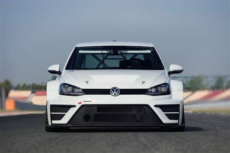 new volkswagen car vw dabbles in touring cars with new 2015 golf racer by car