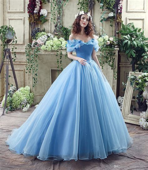 2016 Fairytale Masquerade Ball Gowns In Stock Blue Butterfly Portrait Beaded Tulle Lace Up Prom