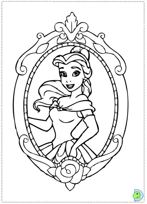beauty and the beast rose coloring page heart coloring pages