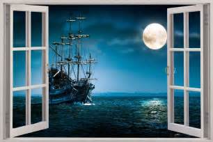 Pirate Ship Wall Mural pirate ship wallpaper mural pirate cartoon mural 3 jpg wallpaper