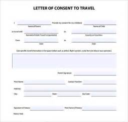 template for notarized letter notarized letter template for child travel best business