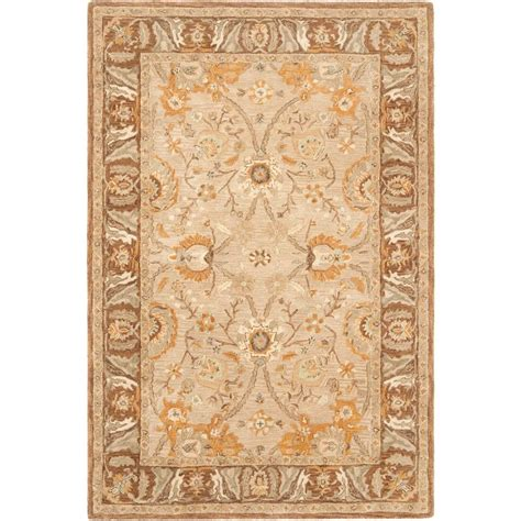 Brown And Gray Area Rug Safavieh Anatolia Grey Brown 5 Ft X 8 Ft Area Rug An558a 5 The Home Depot