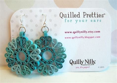 Quilling Handmade Jewelry Business 1000sbi - quilled earrings
