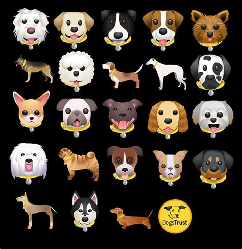 emoji dog wallpaper dog emoji keyboard from dogs trust dog milk