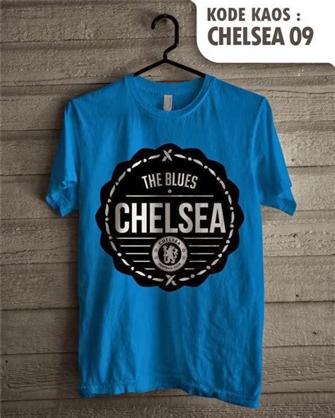 Kaos Club Bola Chelsea jual chelsea baju kaos distro tim sepak bola jersey